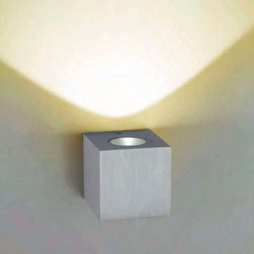 Led wall light PAXOS,  3W, Cool white
